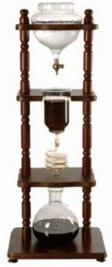 Yama cold drip coffee maker