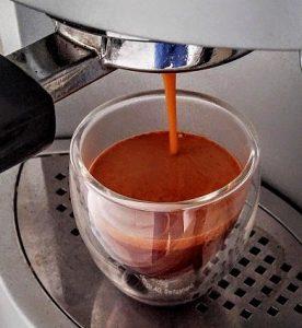 Pulling Espresso Shot in Bodum Pavina Cup 3